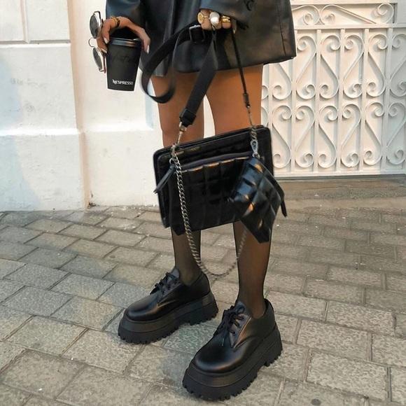 Zara blogger fav platform shoes